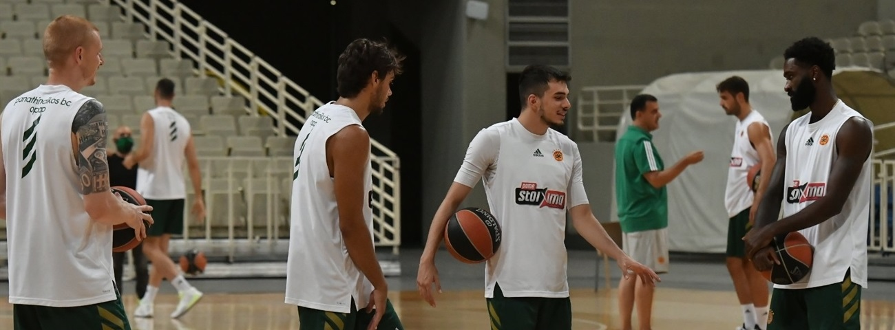 New-look Panathinaikos comes together for new season