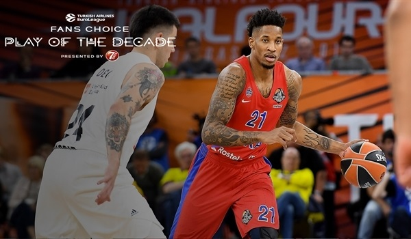 Round 6 winner, Fans Choice Play of the Decade: Will Clyburn