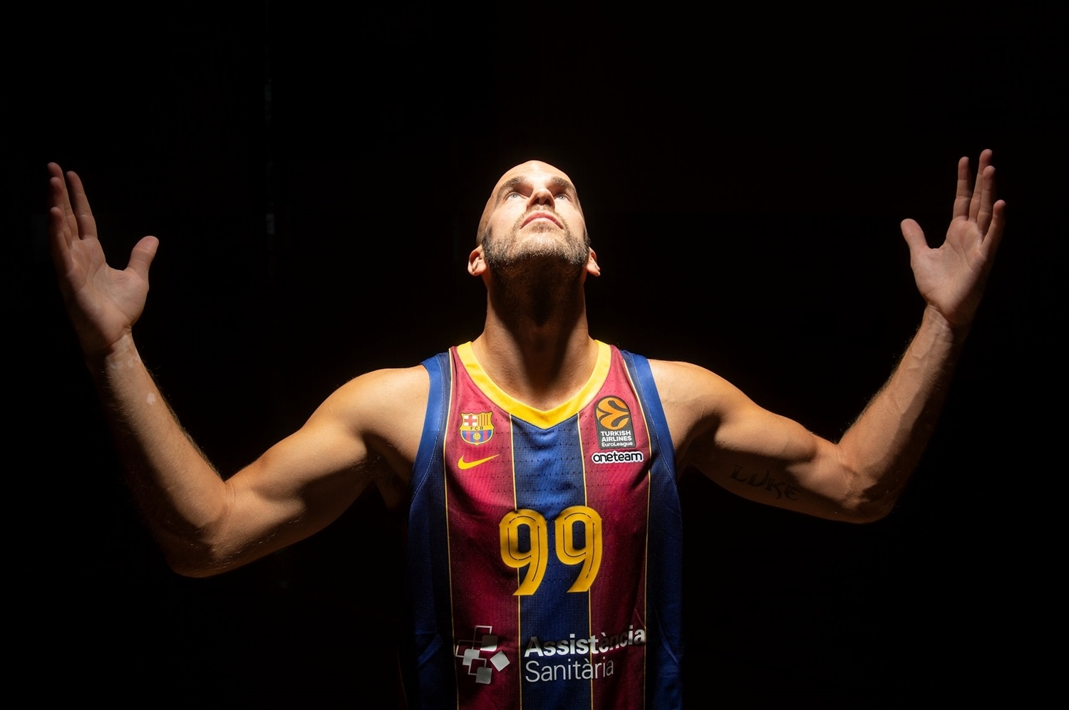 Nick Calathes - FC Barcelona - Media Day 2020-21 - EB20