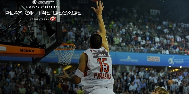Round 8 winner, Fans Choice Play of the Decade: Georgios Printezis