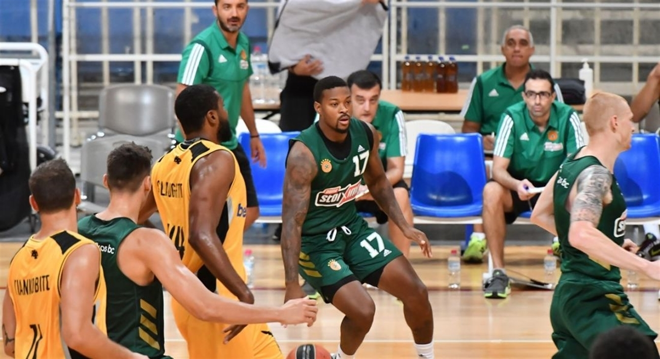 Marcus Foster - Panathinaikos OPAP Athens in preseason (photo Panathinaikos) - EB20
