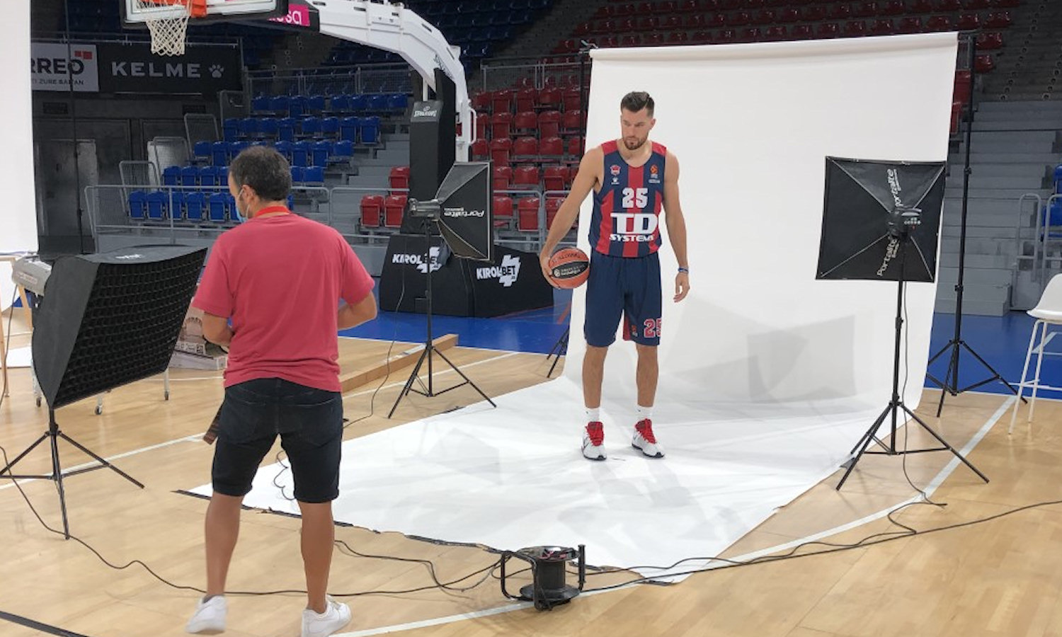 Alec Peters - TD Systems Baskonia Vitoria-Gasteiz Media Day 2020 - EB20