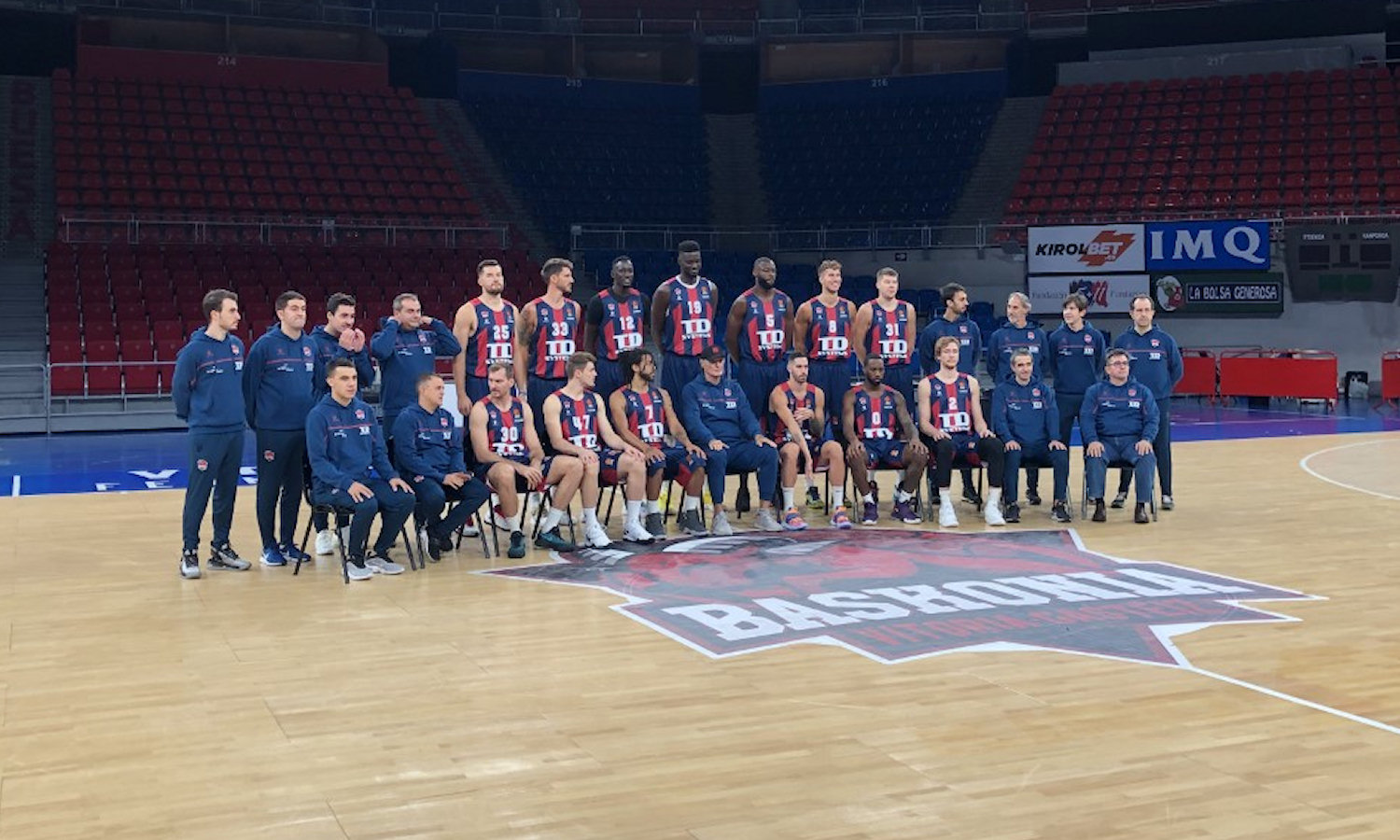 TD Systems Baskonia Vitoria-Gasteiz 2 Media Day 2020 - EB20