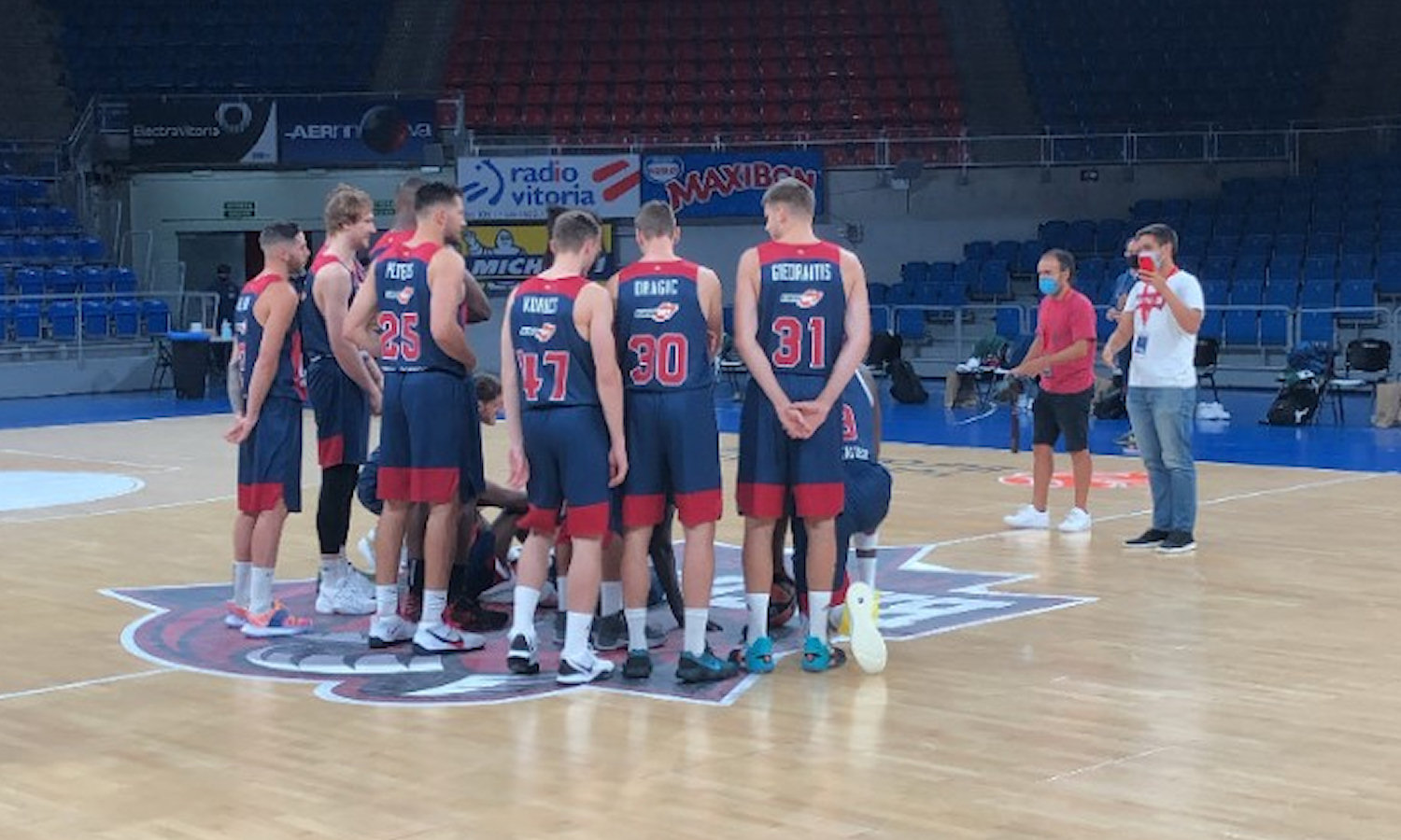 TD Systems Baskonia Vitoria-Gasteiz Media Day 2020 - EB20