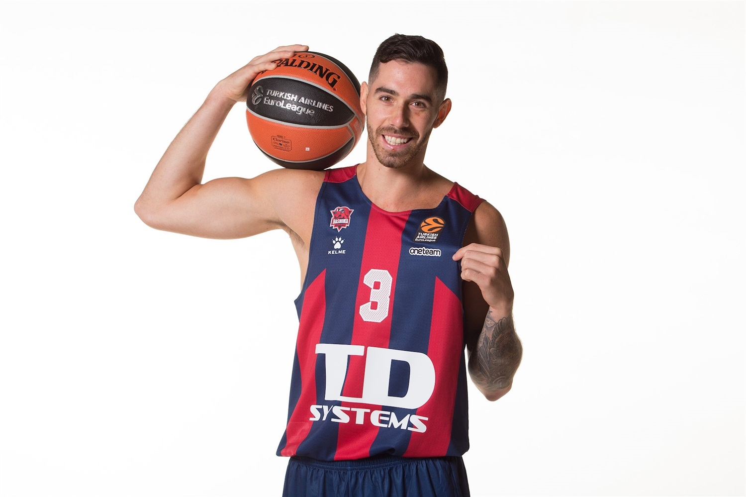 Luca Vildoza - TD Systems Baskonia Vitoria-Gasteiz Media Day 2020 - EB20