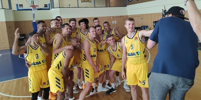 Media Day 2020-21: ALBA Berlin