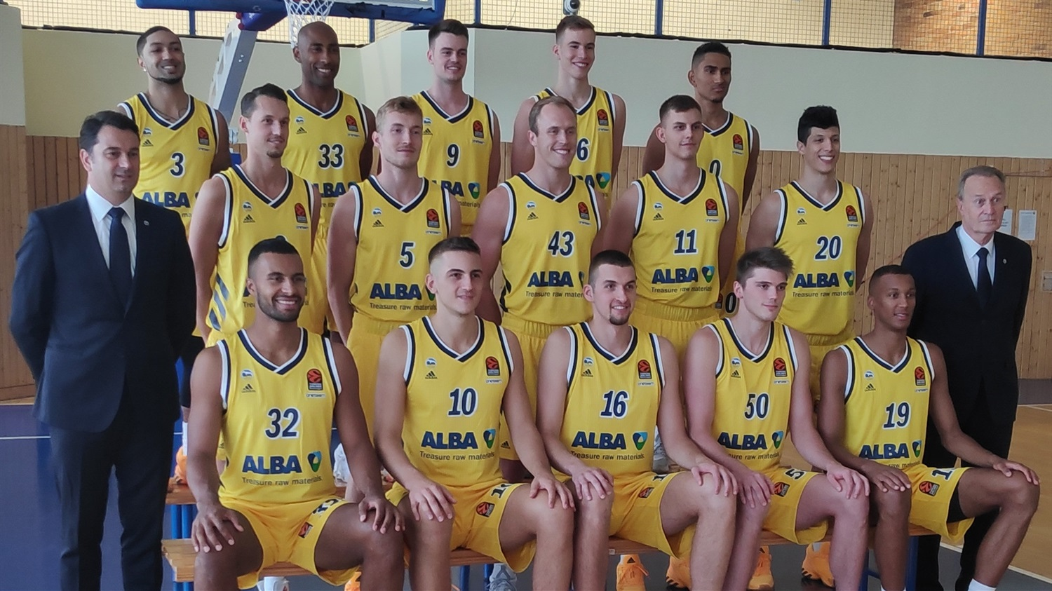 ALBA Berlin  Media Day 2020 - EB20