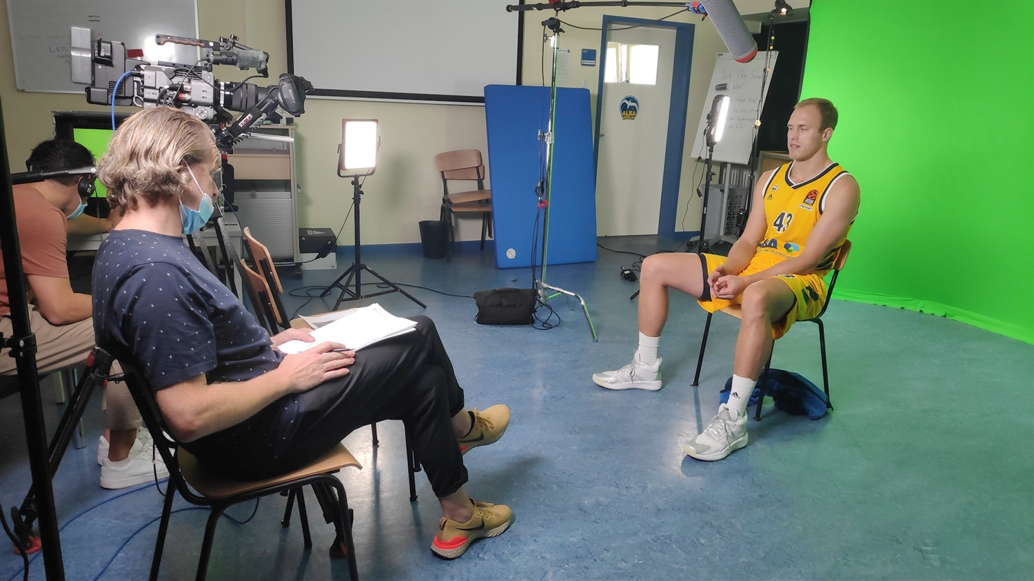 Luke Sikma - ALBA Berlin Media Day 2020 - EB20