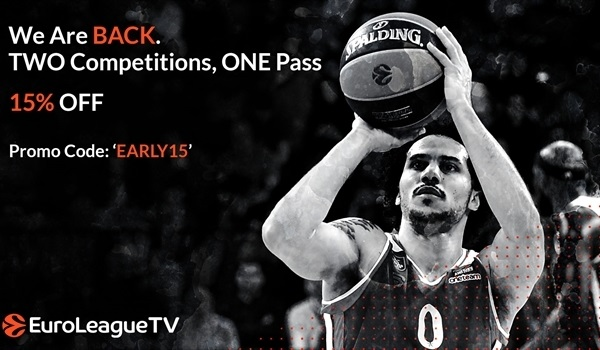 EuroLeague TV packages available now!