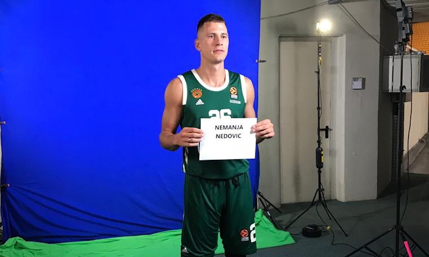 Nemanja Nedovic - Panathinaikos OPAP Athens Media Day 2020 - EB20