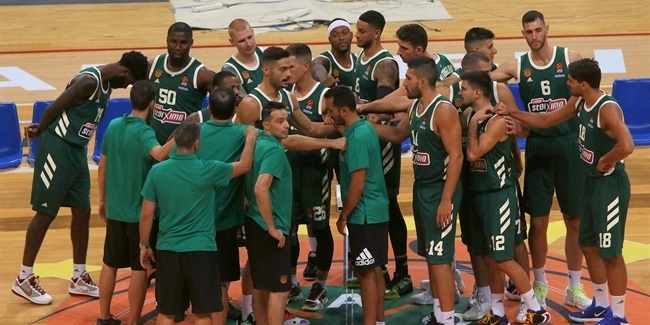 Media Day 2020-21: Panathinaikos OPAP Athens