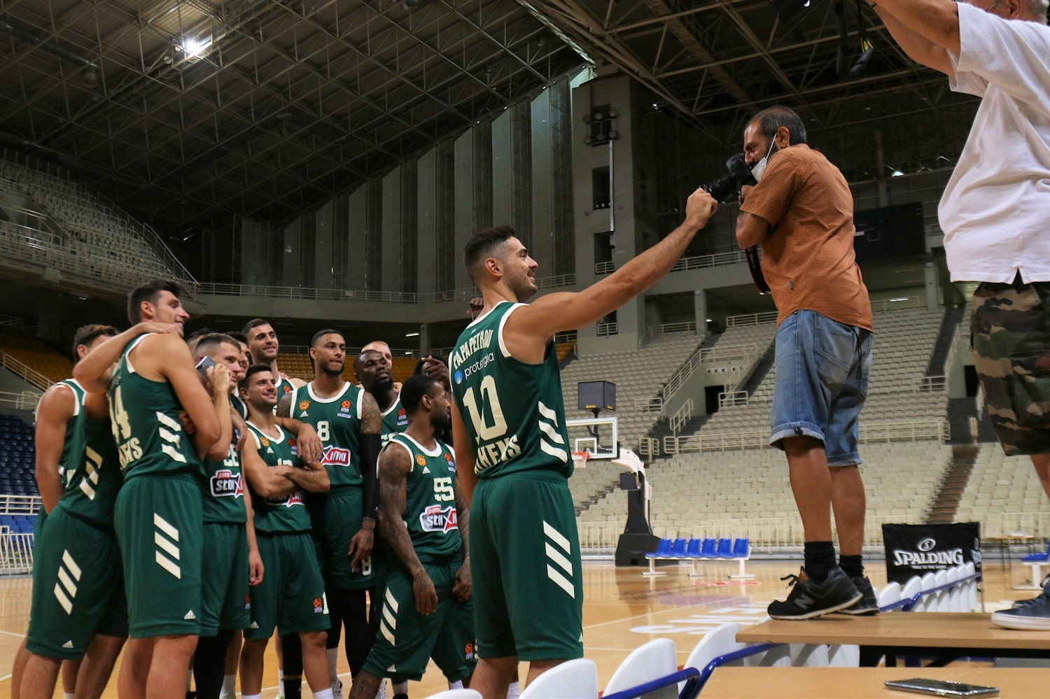 Panathinaikos OPAP Athens  Media Day 2020 - EB20