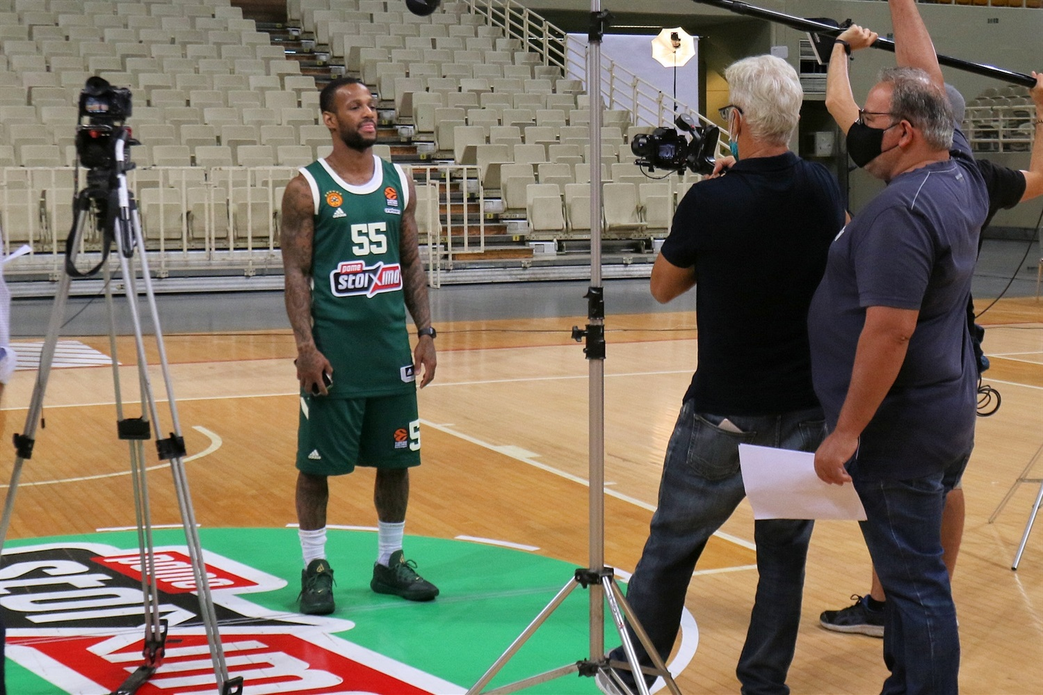 Pierre Jackson - Panathinaikos OPAP Athens Media Day 2020 - EB20