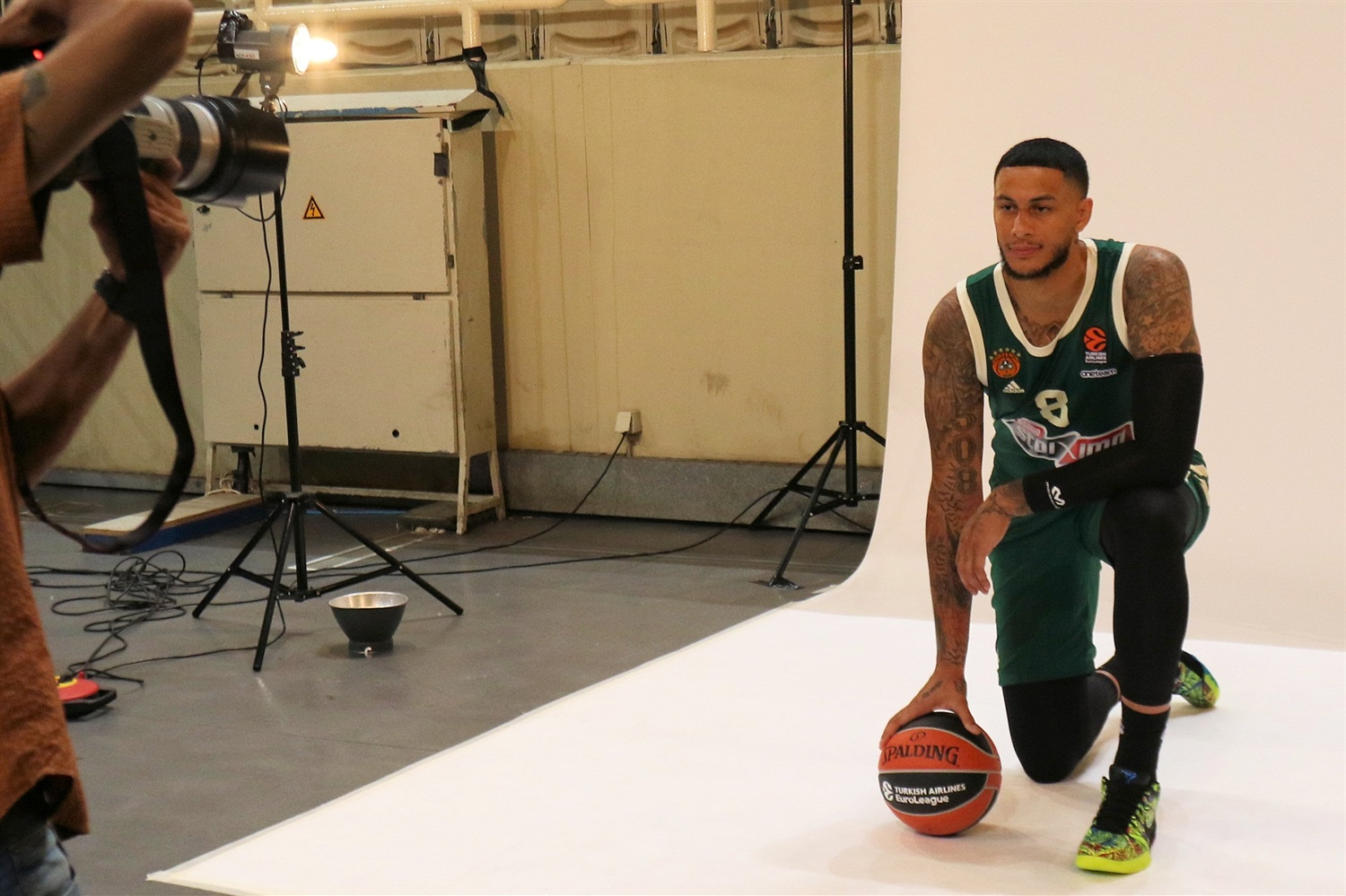 Zach Auguste - Panathinaikos OPAP Athens Media Day 2020 - EB20