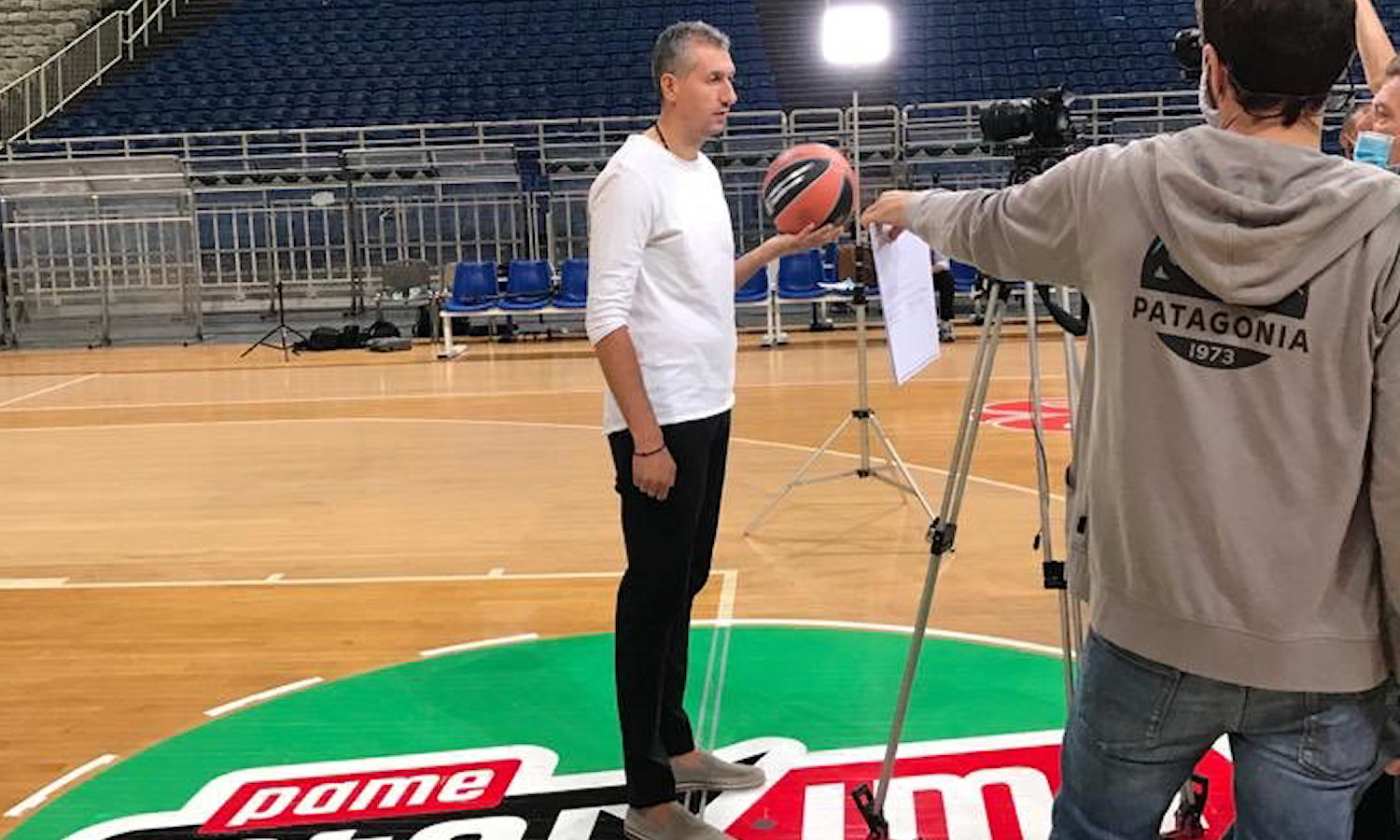 Dimitris Diamantidis - Panathinaikos OPAP Athens Media Day 2020 - EB20