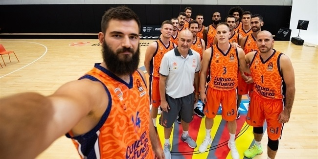 2020 Media Day Live: Valencia Basket