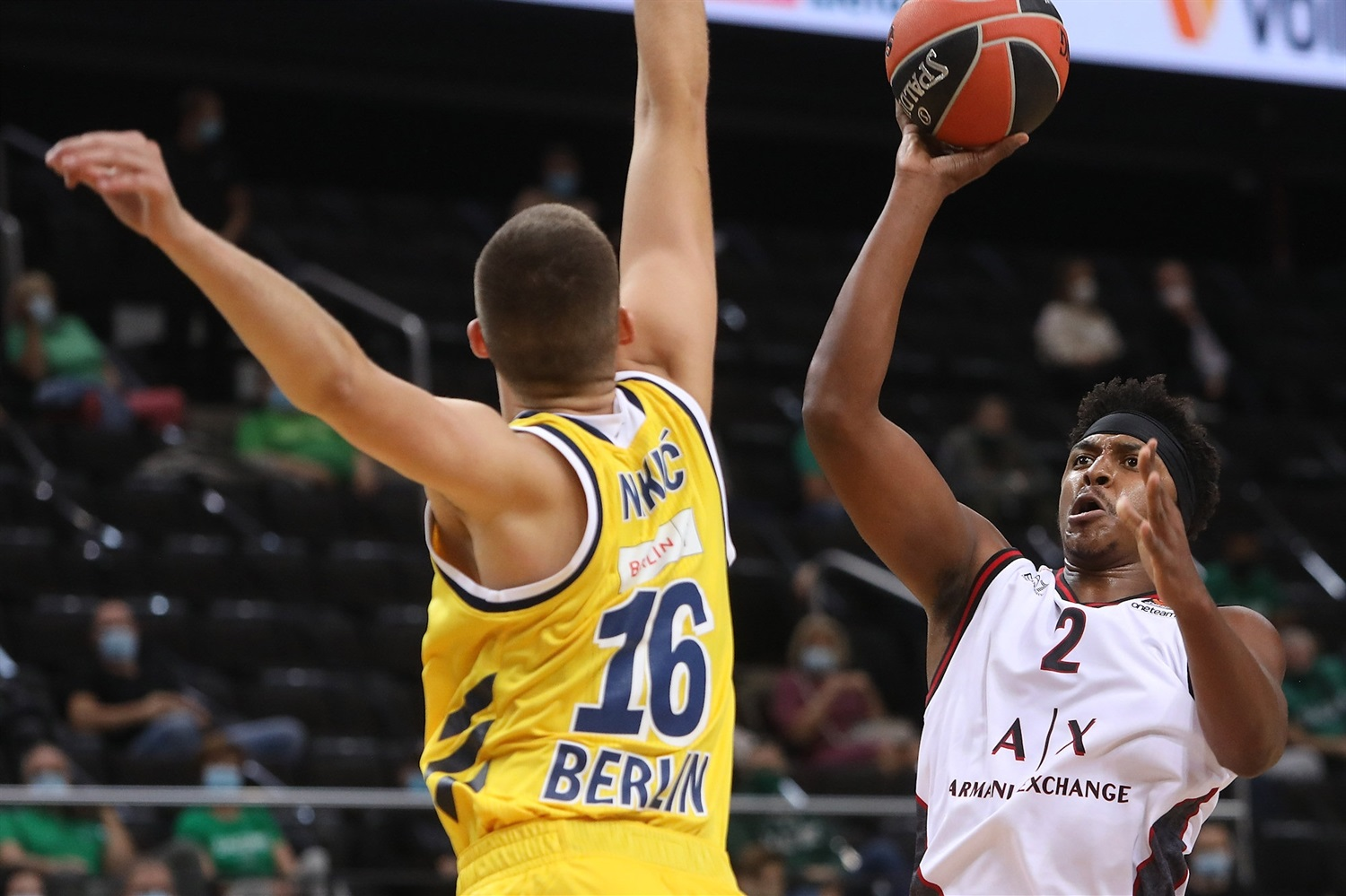 Zach Leday - AX Armani Exchange Milan - Preseason Tour Kaunas 2020 - EB20