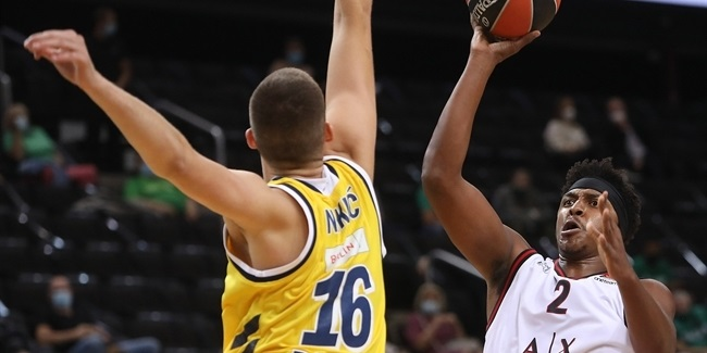 Milan tops ALBA as basketball returns
