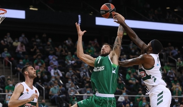 Zalgiris rewards home fans with win