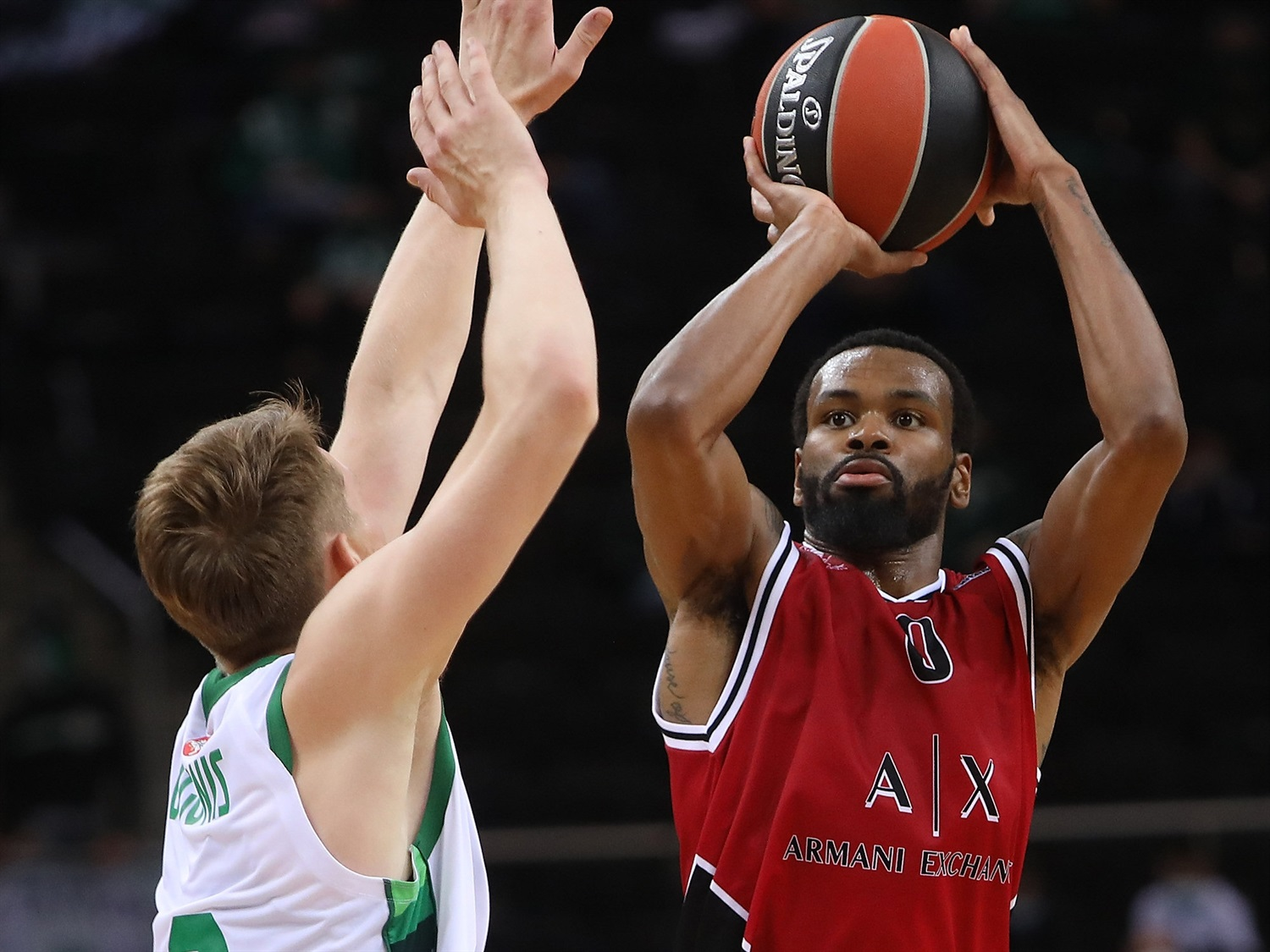 Kevin Punter - AX Armani Exchange Milan - Preseason Tour Kaunas 2020 - EB20