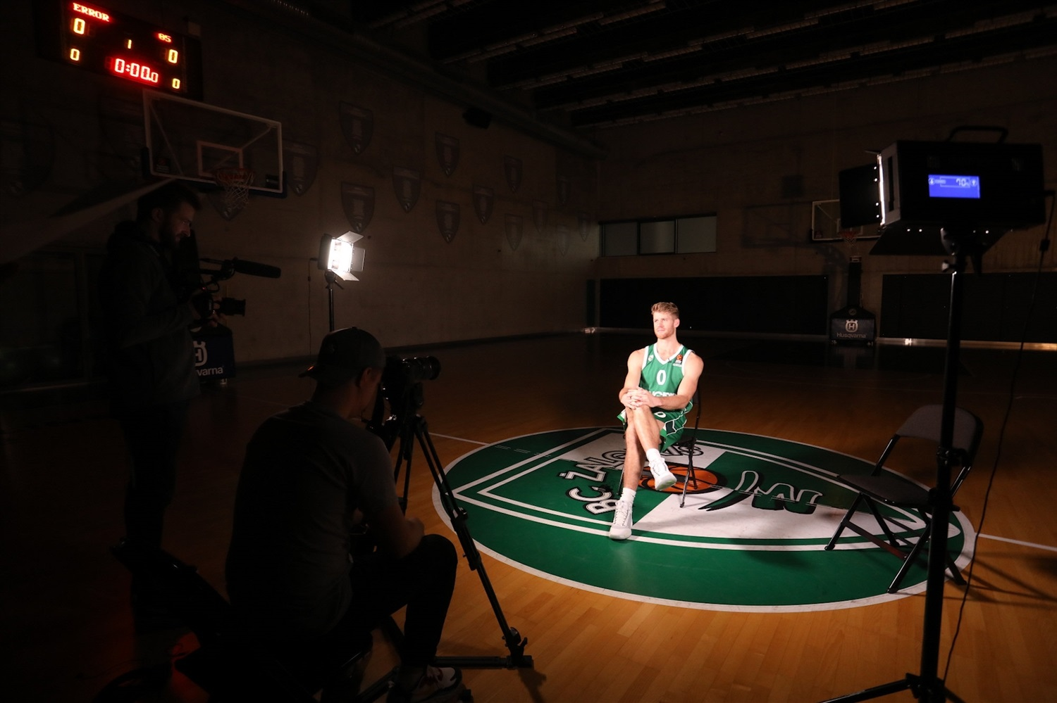 Thomas Walkup - Zalgiris Kaunas Media Day 2020 - EB20