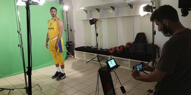 Media Day 2020-21: Maccabi Playtika Tel Aviv