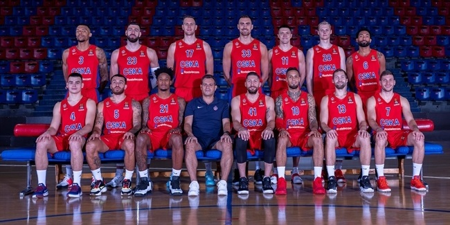 Roster rundown CSKA Moscow