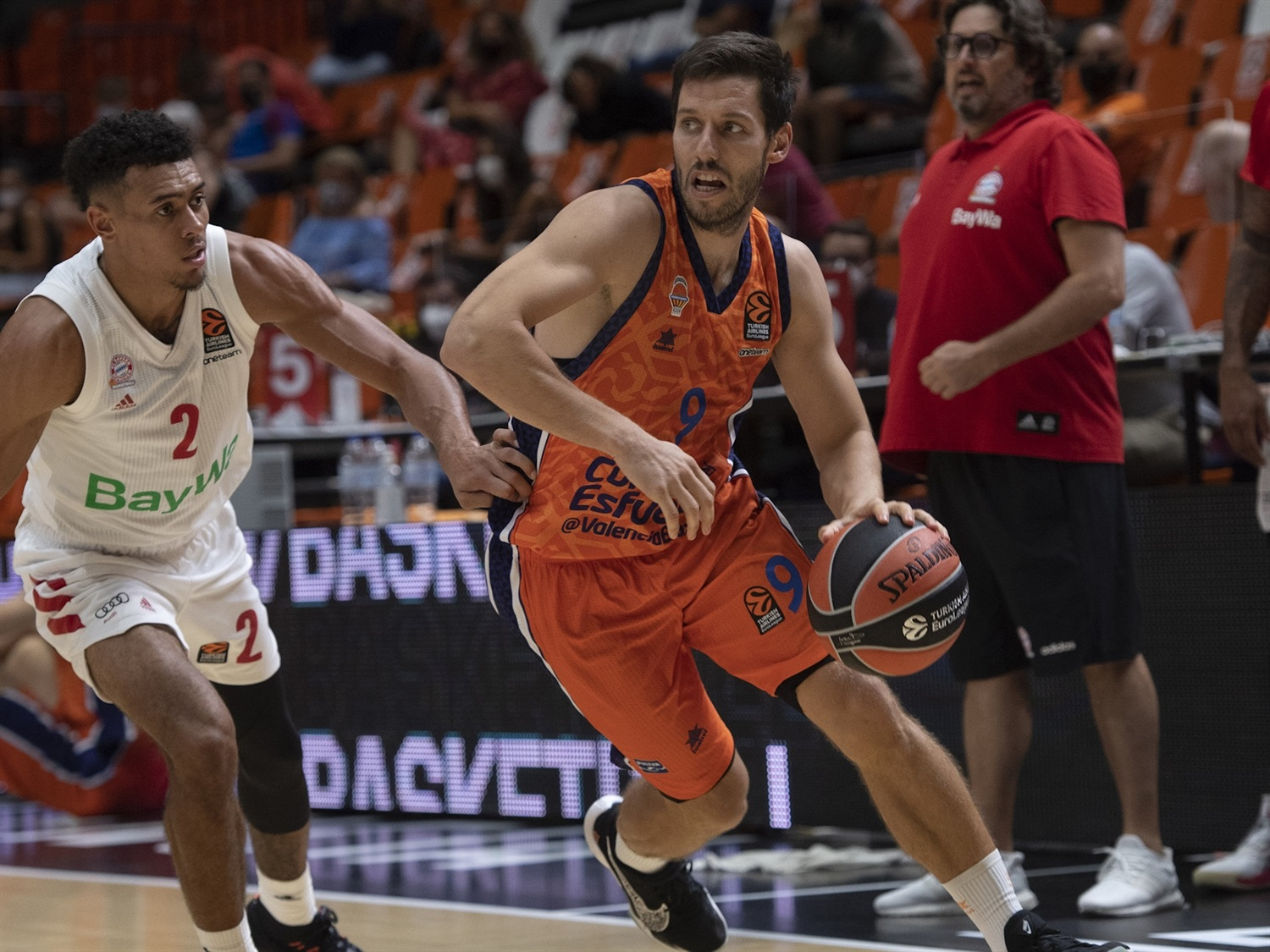 Sam Van Rossom - Valencia Basket - Preseason Tournament Valencia 2020 - EB20