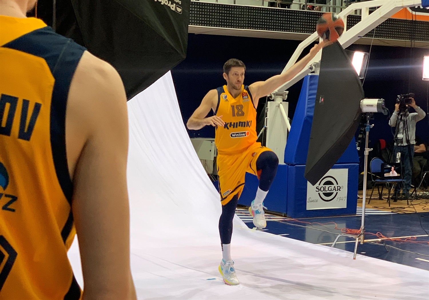 Evgeny Voronov - Khimki Moscow Region Media day 2020 - EB20
