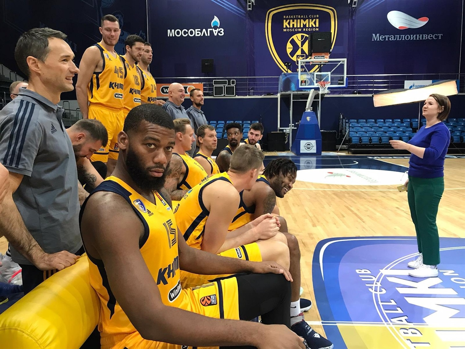 Khimki Moscow Region Media Day 2020 - EB20
