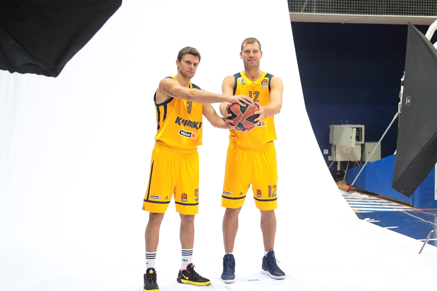 Egor Vialtsev and Sergey Monia - Khimki Moscow Region Media day 2020 - EB20