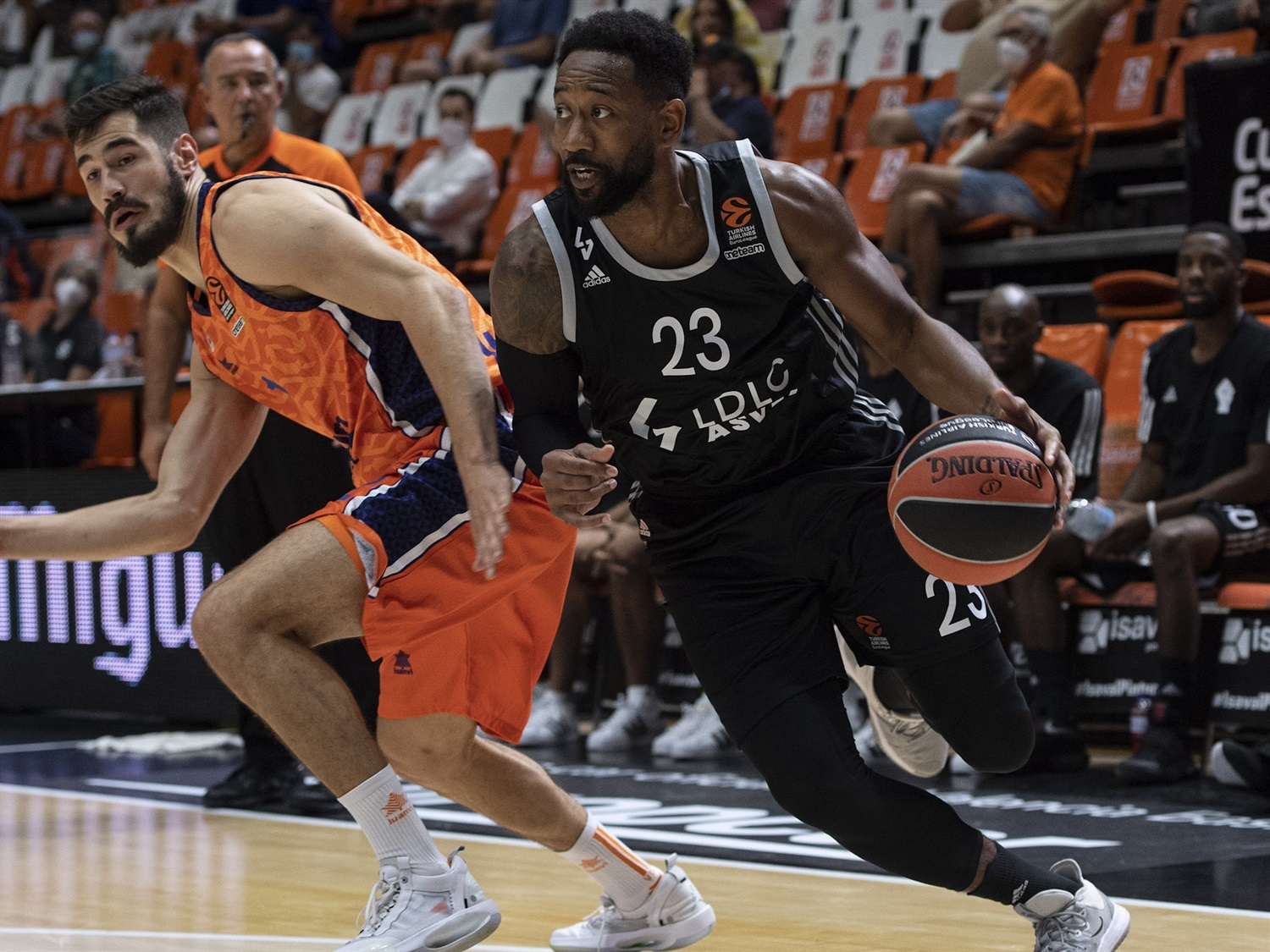 David Lighty - LDLC ASVEL Villeurbanne - Preseason Tournament Valencia 2020 - EB20