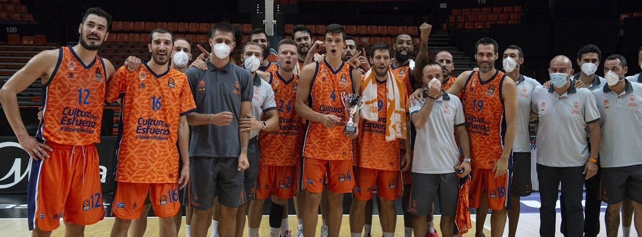Valencia stops ASVEL to win WE'RE BACK tourney!