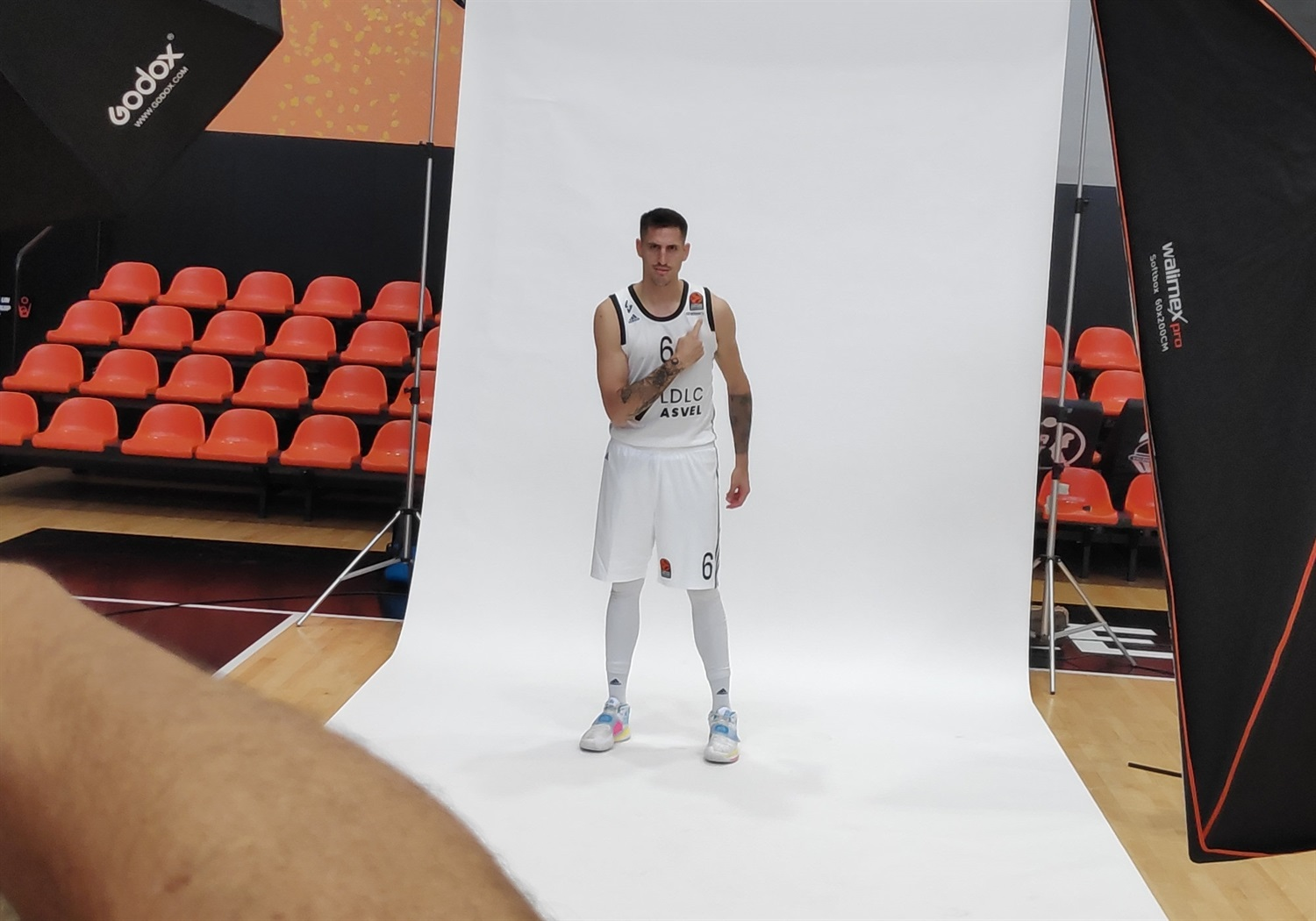 Paul Lacombe - LDLC ASVEL Villeurbanne Media Day - EB20
