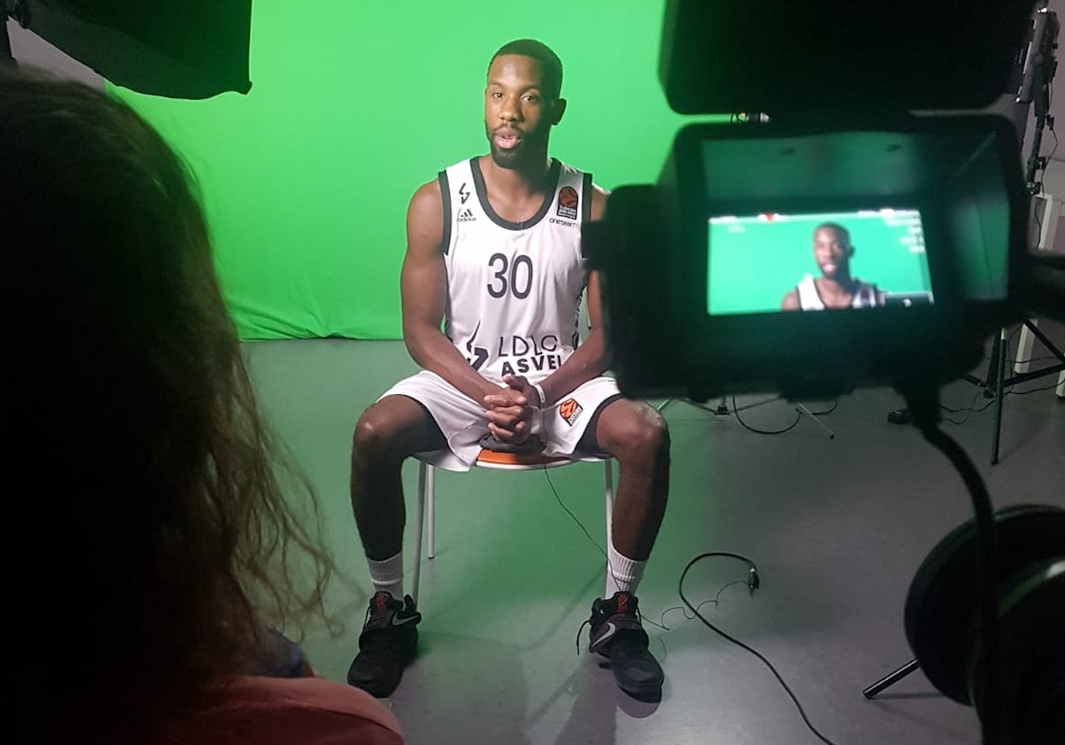 Norris Cole - LDLC ASVEL Villeurbanne Media Day - EB20