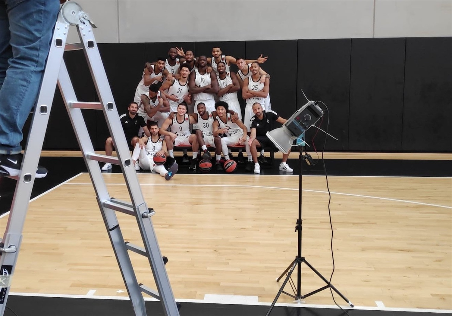 LDLC ASVEL Villeurbanne Media Day - EB20