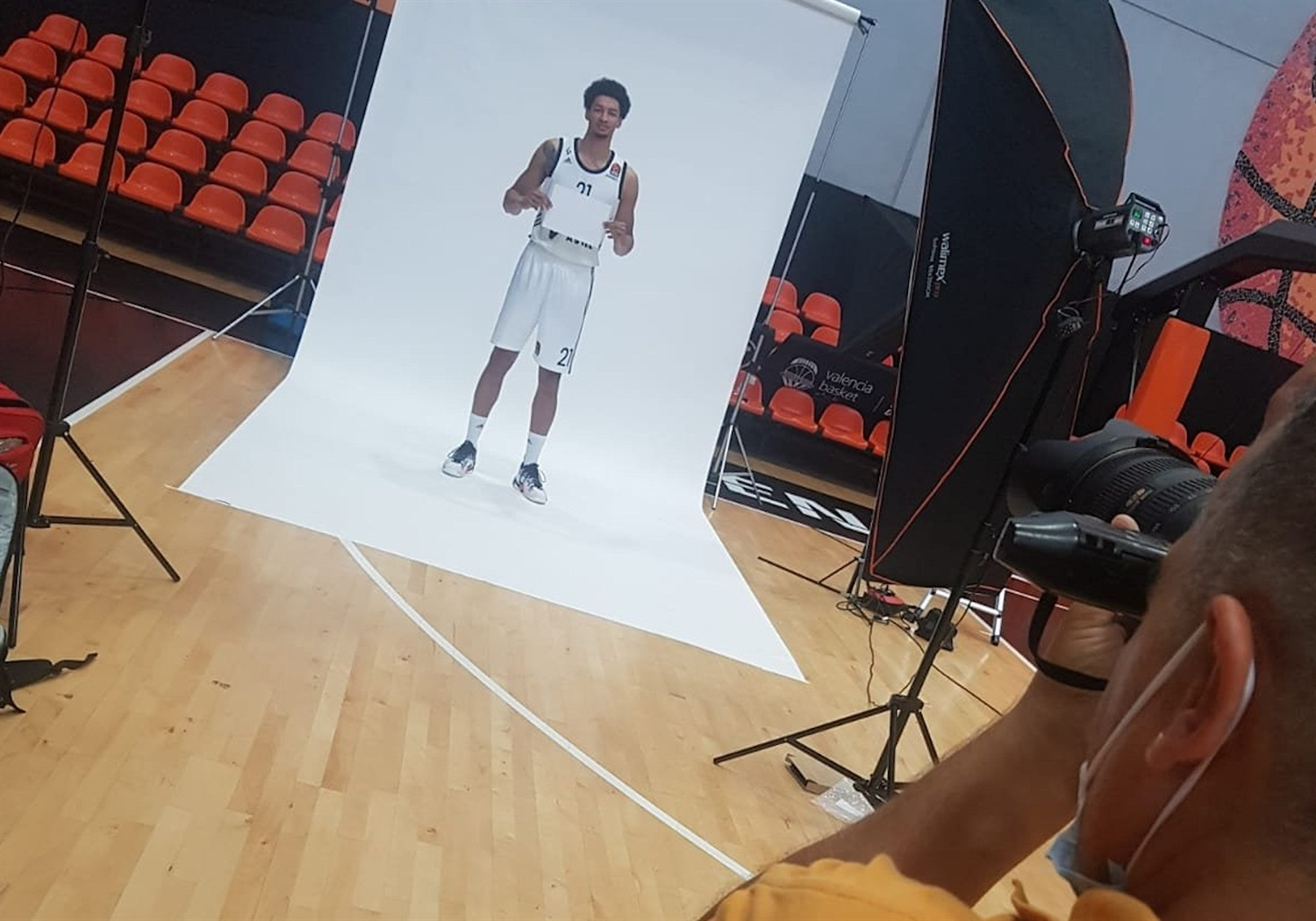 Ismael Bako - LDLC ASVEL Villeurbanne Media Day - EB20