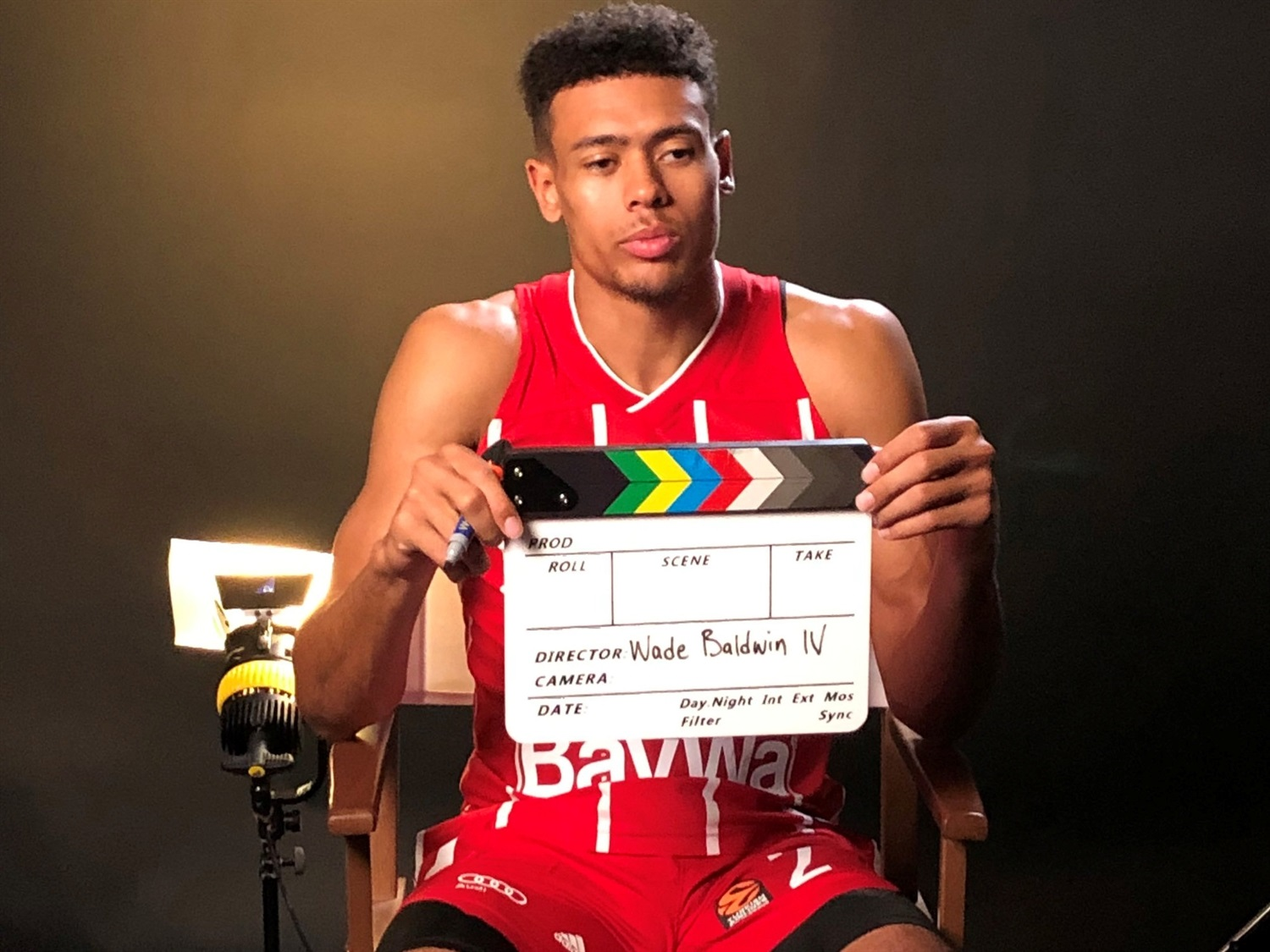 Wade Baldwin - FC Bayern Munich Media Day - EB20