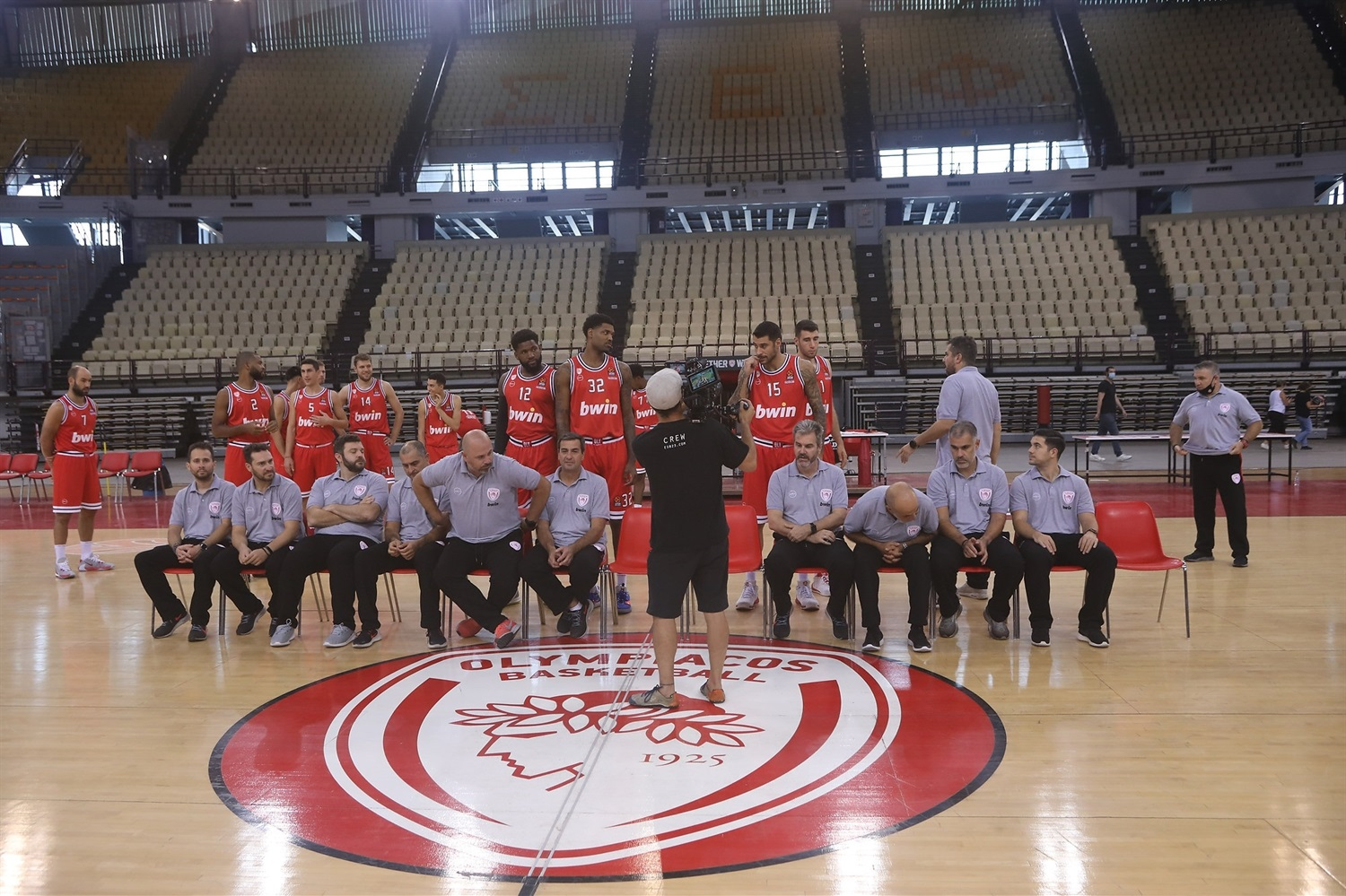 Olympiacos Piraeus media Day 2020 - EB20