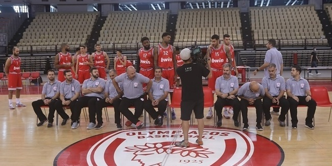 Media Day 2020-21: Olympiacos Piraeus