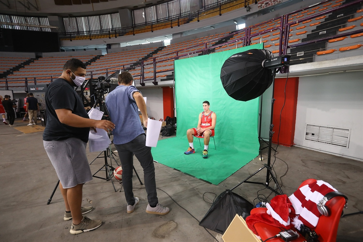 Giannoulis Larentzakis - Olympiacos Piraeus media Day 2020 - EB20