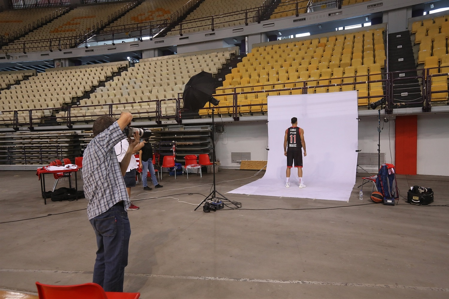Kostas Sloukas - Olympiacos Piraeus Media Day 2020 - EB20