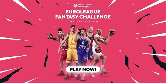 EuroLeague Fantasy Challenge Round 20 winner