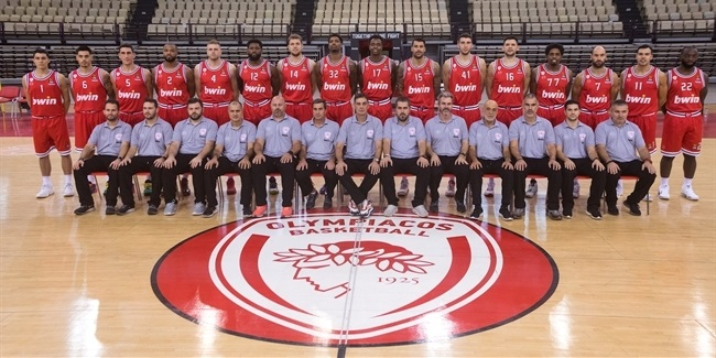 Roster rundown Olympiacos Piraeus