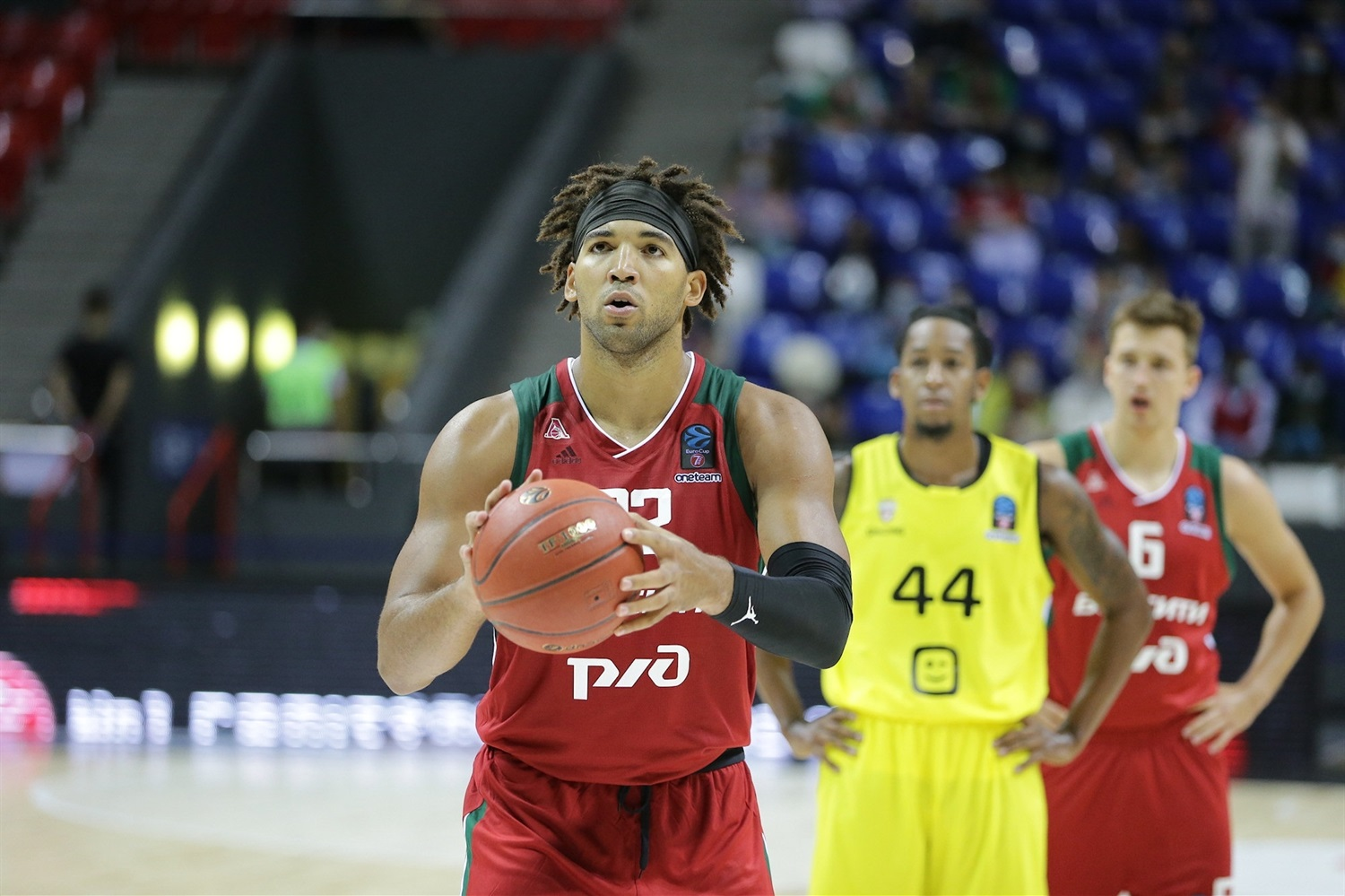 Reggie Lynch - Lokomotiv Kuban Krasnodar (photo Lokomotiv) - EC20