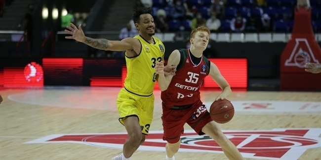 7DAYS EuroCup, Regular Season Round 1: Lokomotiv Kuban Krasnodar vs. Telenet Giants Antwerp