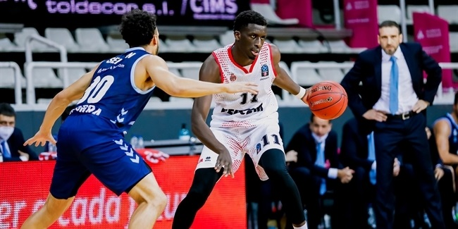 7DAYS EuroCup, Regular Season Round 1: MoraBanc Andorra vs. AS Monaco