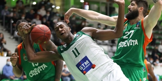 Nanterre's double-double duo starred in opener