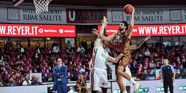 7DAYS EuroCup, Regular Season Round 1: Umana Reyer Venice vs. UNICS Kazan