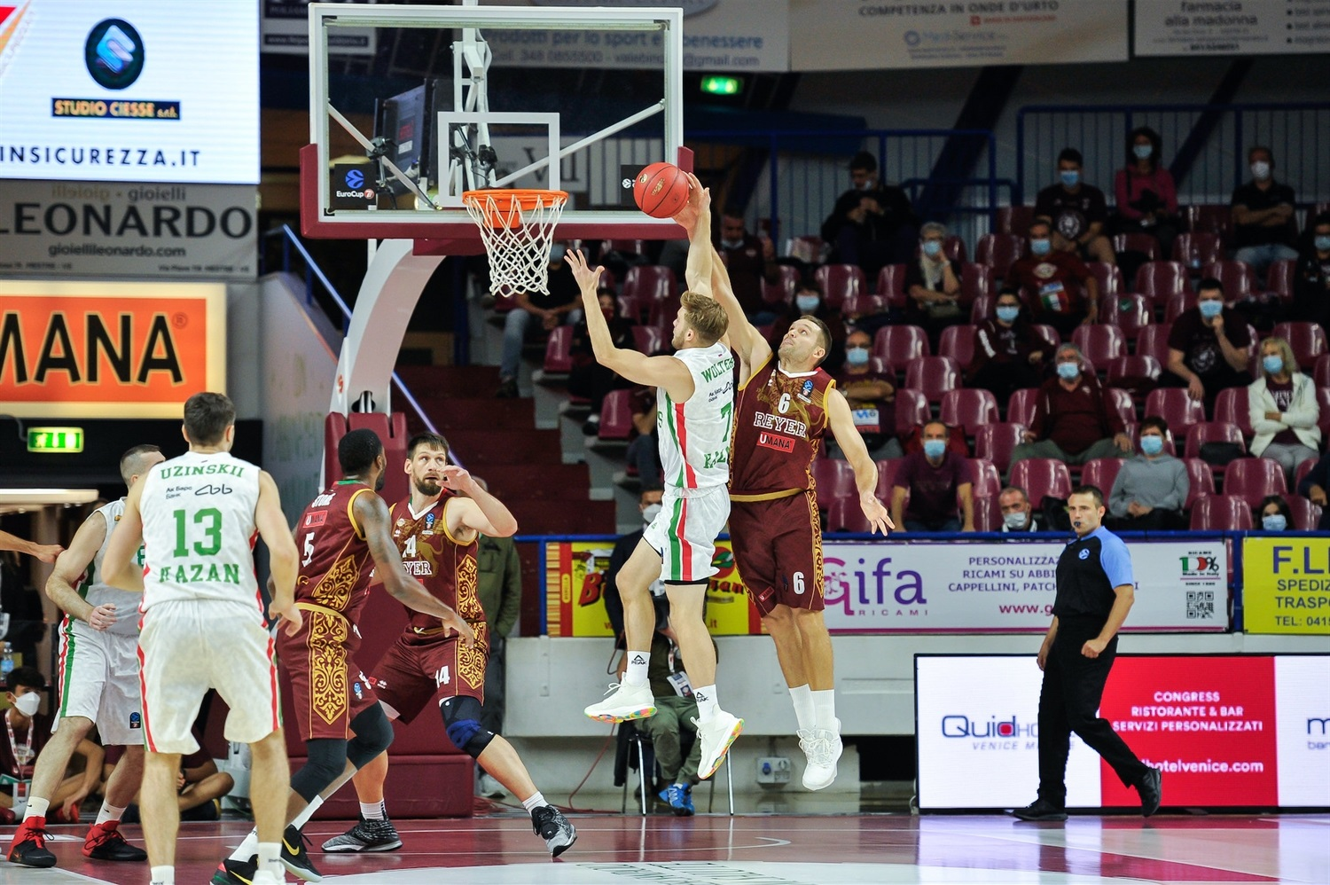 Nate Wolters - UNICS Kazan (photo Reyer) - EC20
